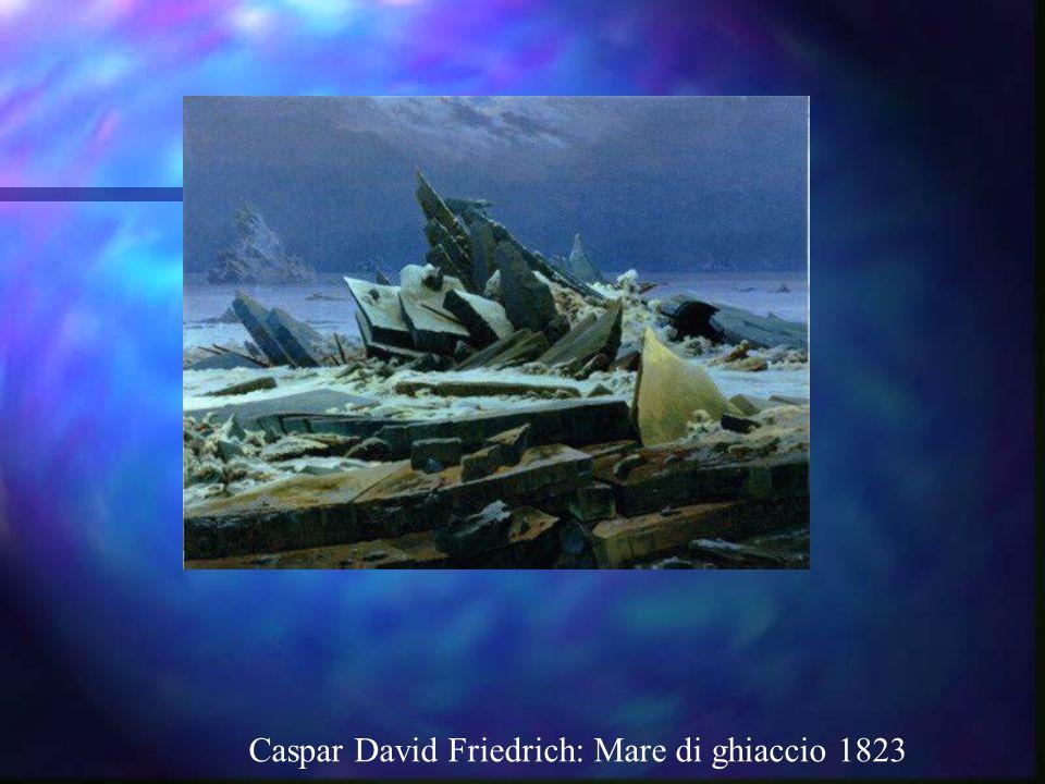 Caspar David Friedrich: Mare di ghiaccio 1823