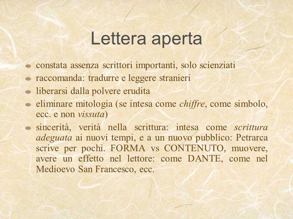 Lettera aperta constata assenza scrittori importanti, solo scienziati