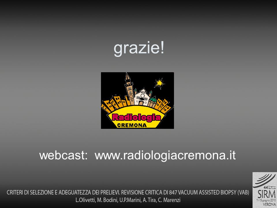 webcast: www.radiologiacremona.it