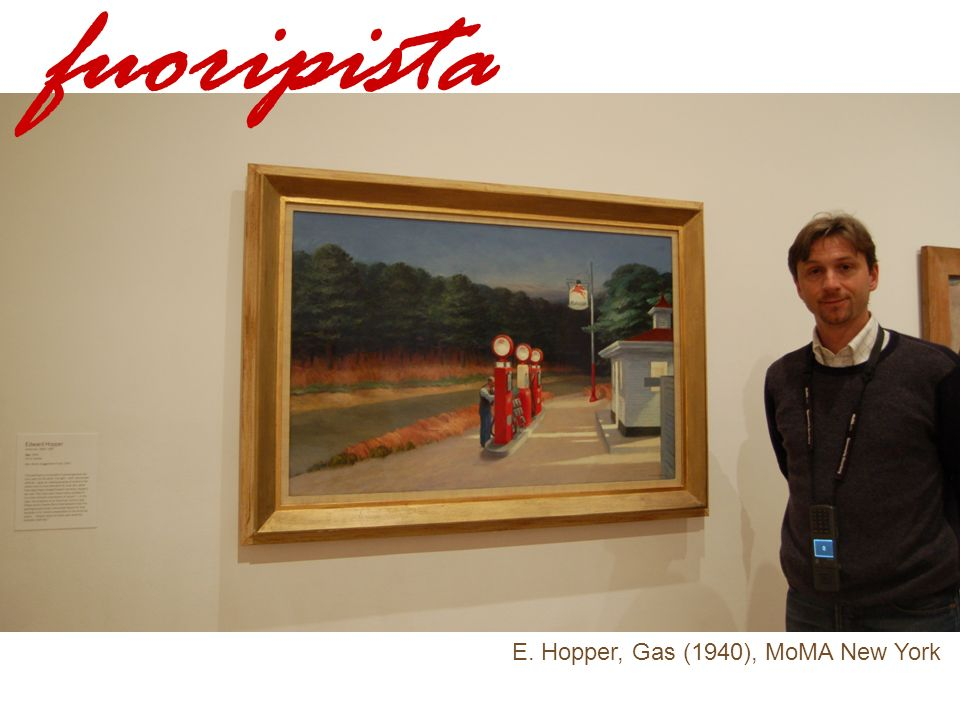 fuoripista E. Hopper, Gas (1940), MoMA New York
