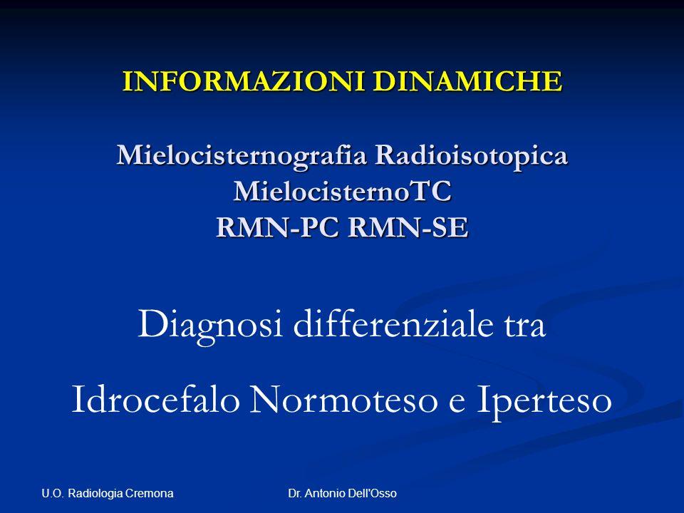 Diagnosi differenziale tra Idrocefalo Normoteso e Iperteso