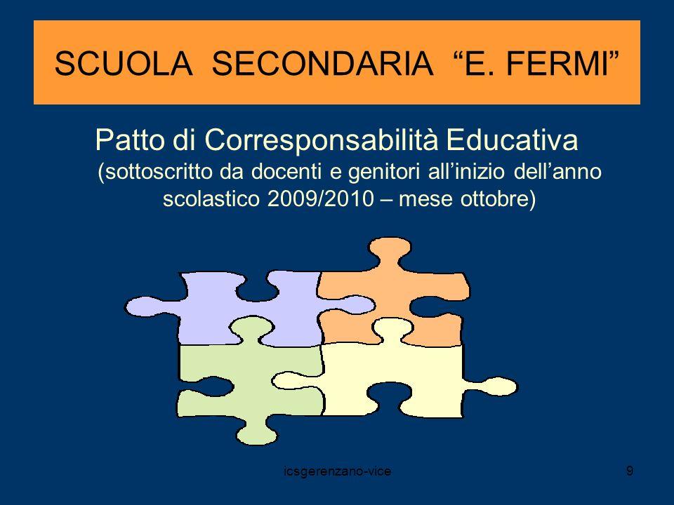 SCUOLA SECONDARIA E. FERMI