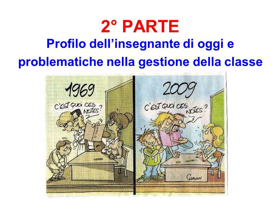 2° PARTE Profilo dell'insegnante di oggi e