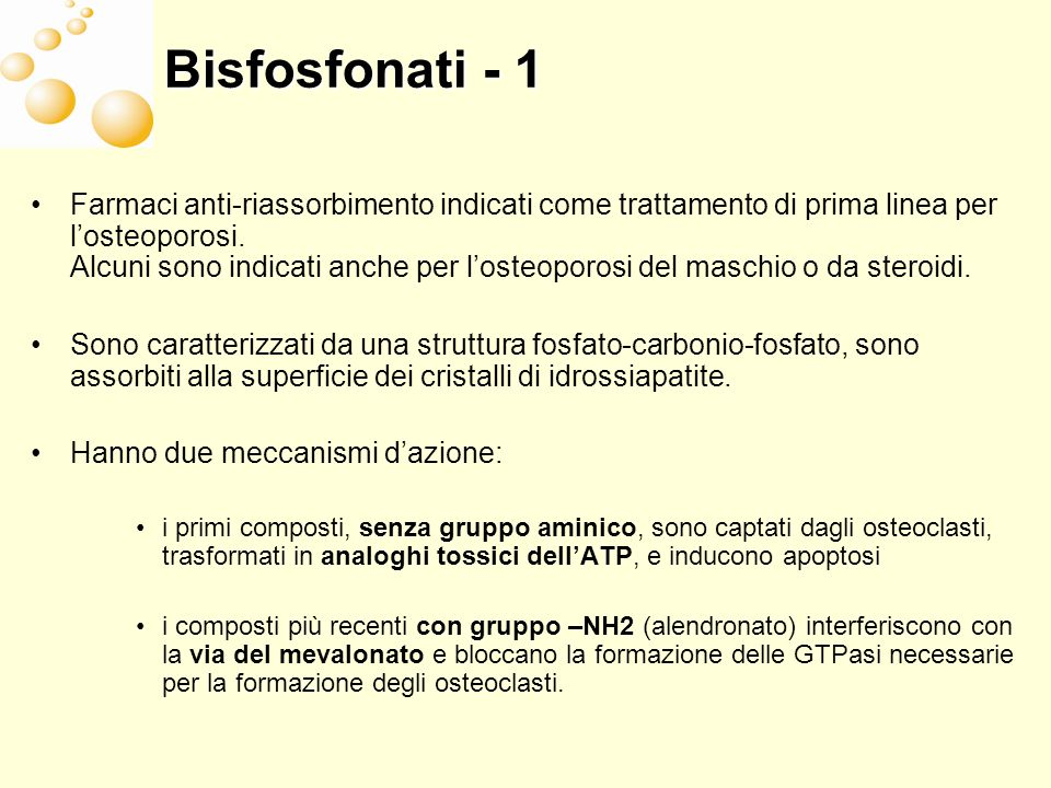 Bisfosfonati - 1