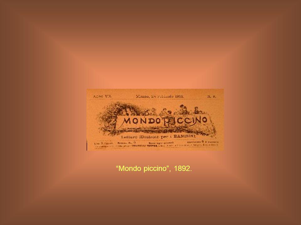 Mondo piccino , 1892.