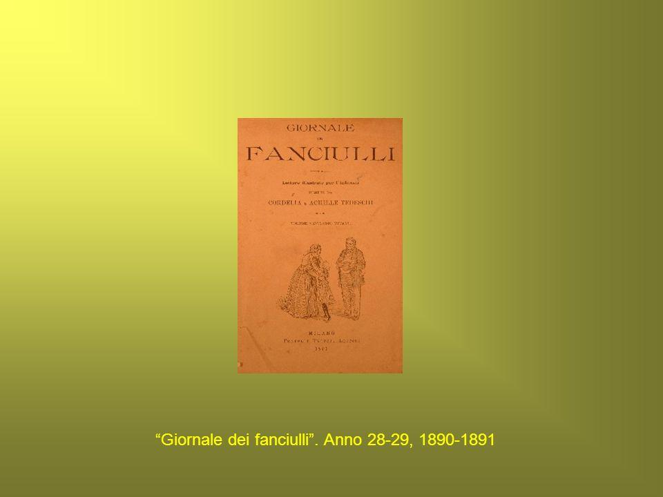 Giornale dei fanciulli . Anno 28-29, 1890-1891