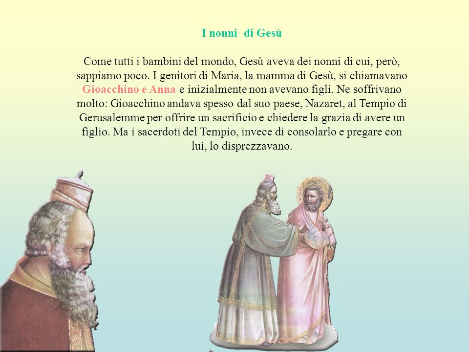 I nonni di Gesù