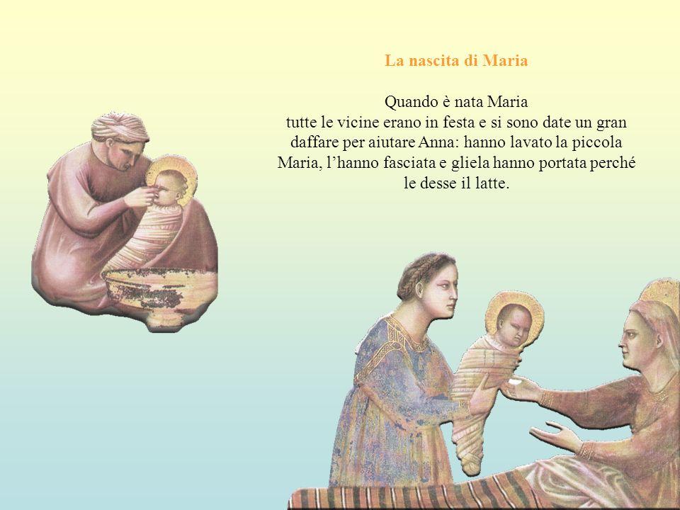 La nascita di Maria Quando è nata Maria.