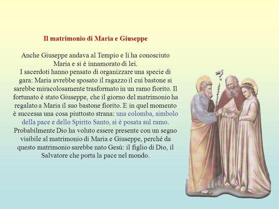 Il matrimonio di Maria e Giuseppe
