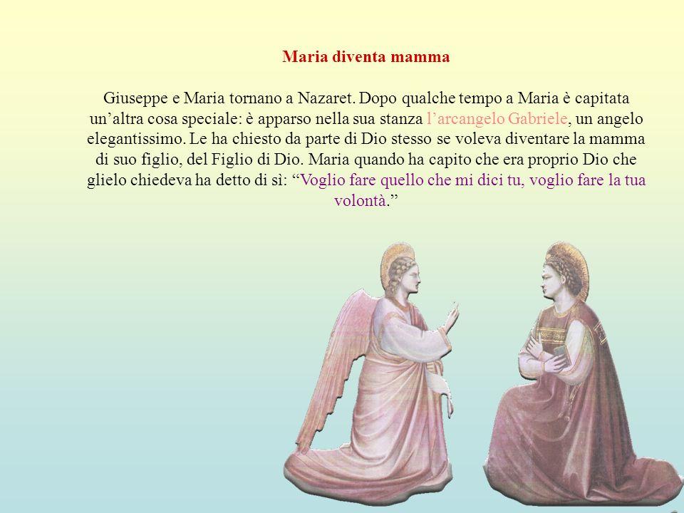 Maria diventa mamma