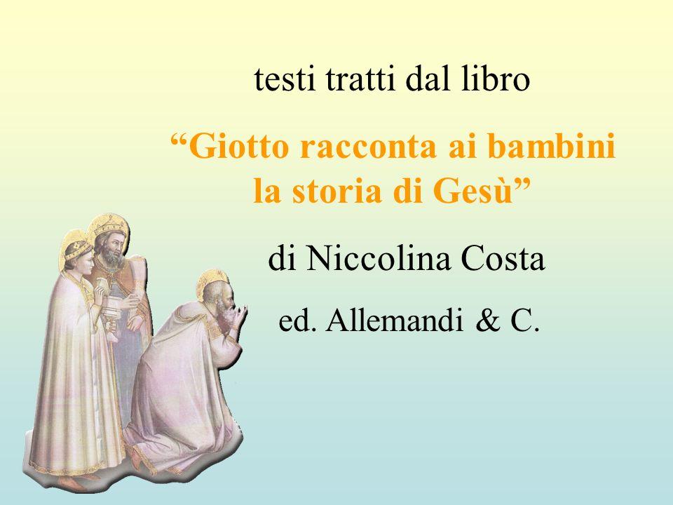 Giotto racconta ai bambini la storia di Gesù