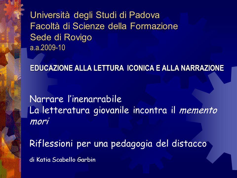 Università degli Studi di Padova Facoltà di Scienze della Formazione