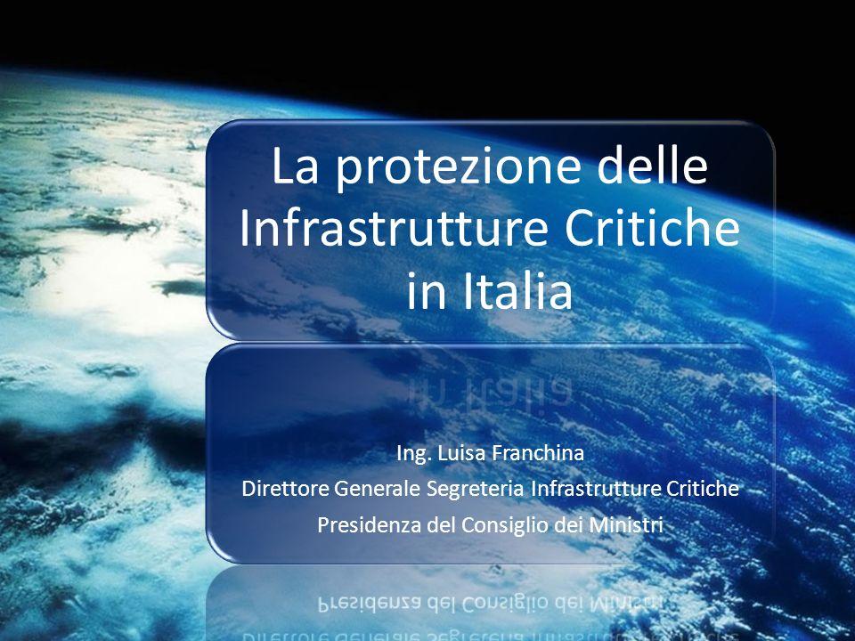 La protezione delle Infrastrutture Critiche in Italia
