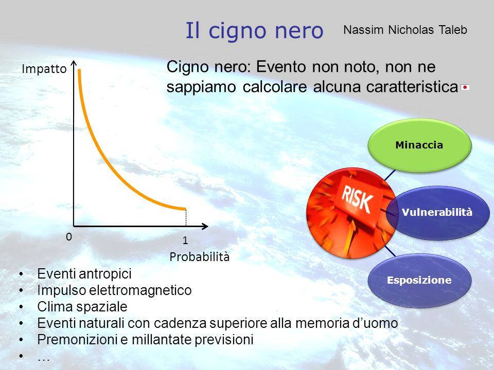 Il cigno nero Nassim Nicholas Taleb. Cigno nero: Evento non noto, non ne sappiamo calcolare alcuna caratteristica.
