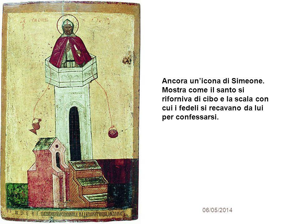 Ancora un'icona di Simeone