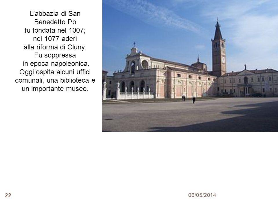 L'abbazia di San Benedetto Po
