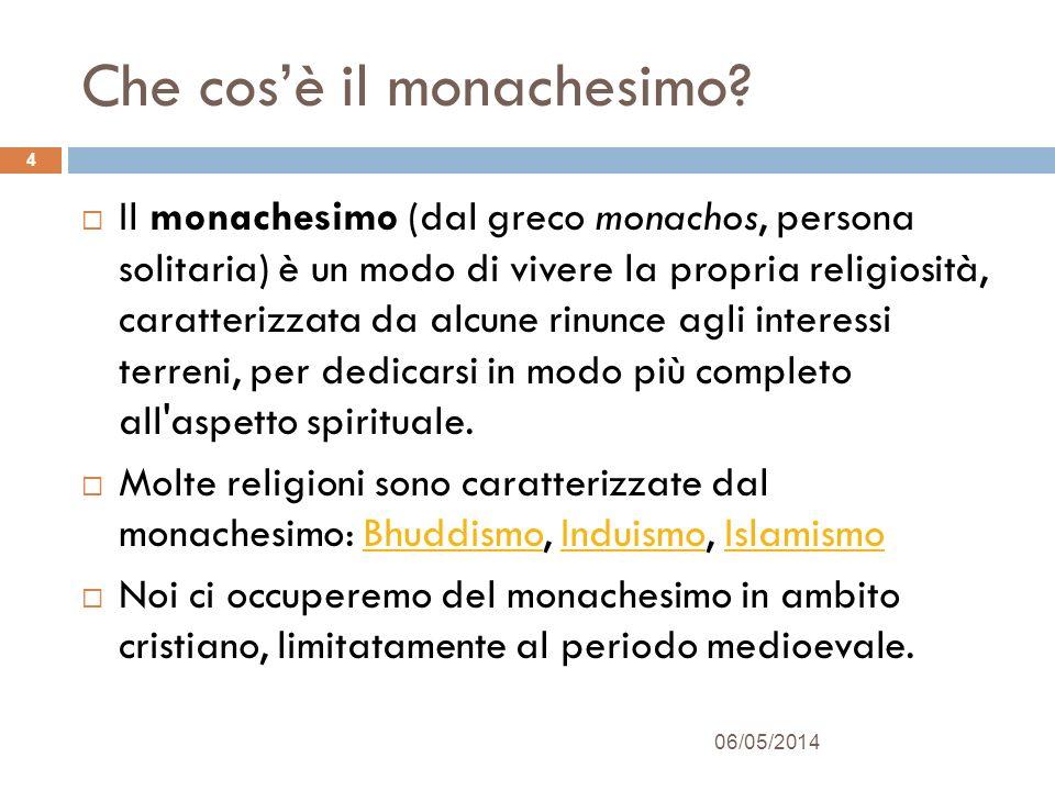 Che cos'è il monachesimo