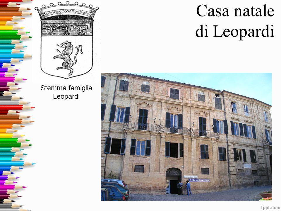 Casa natale di Leopardi