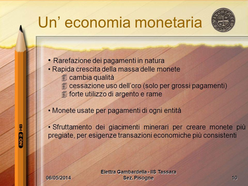Un' economia monetaria