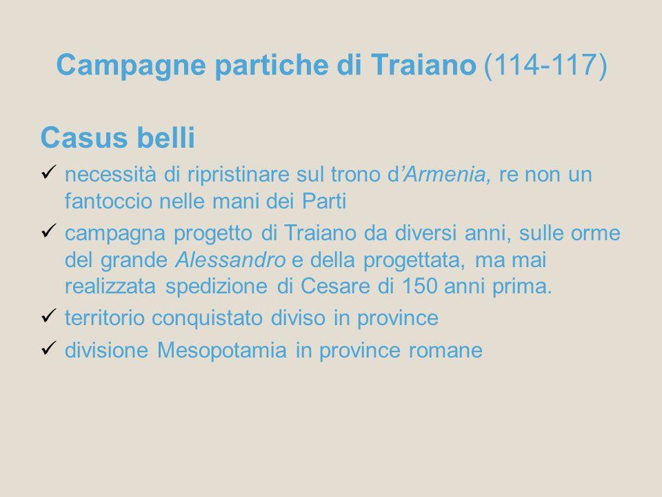 Campagne partiche di Traiano (114-117)