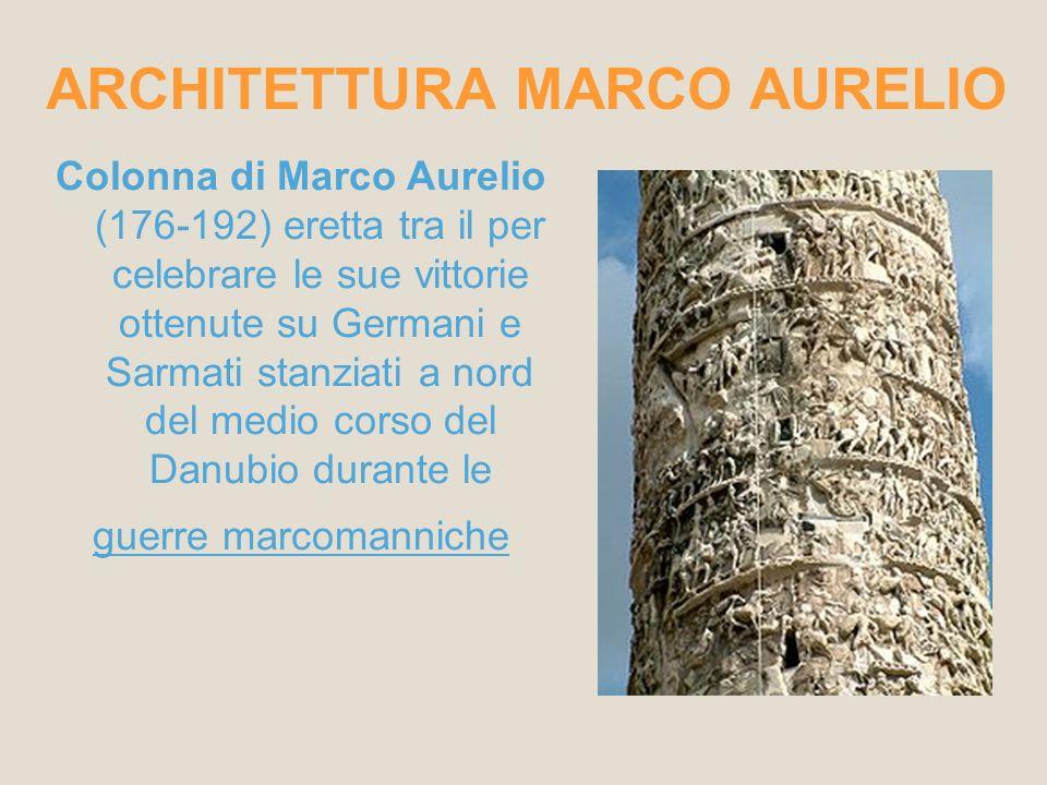 ARCHITETTURA MARCO AURELIO