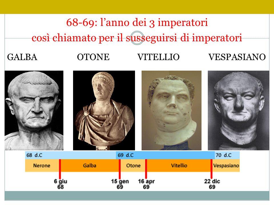 68-69: l'anno dei 3 imperatori