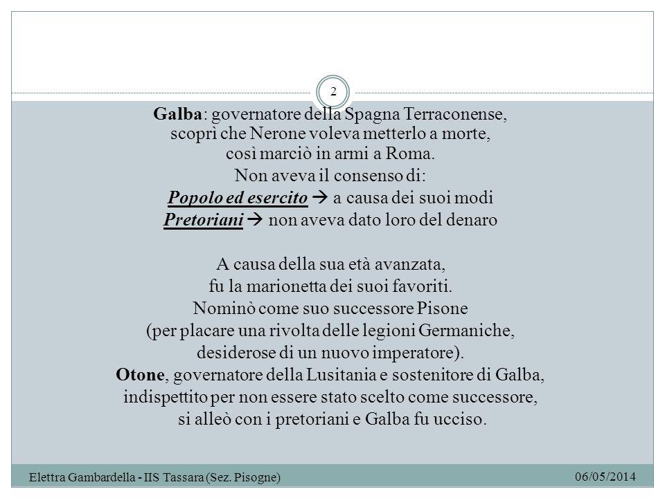 Galba: governatore della Spagna Terraconense,
