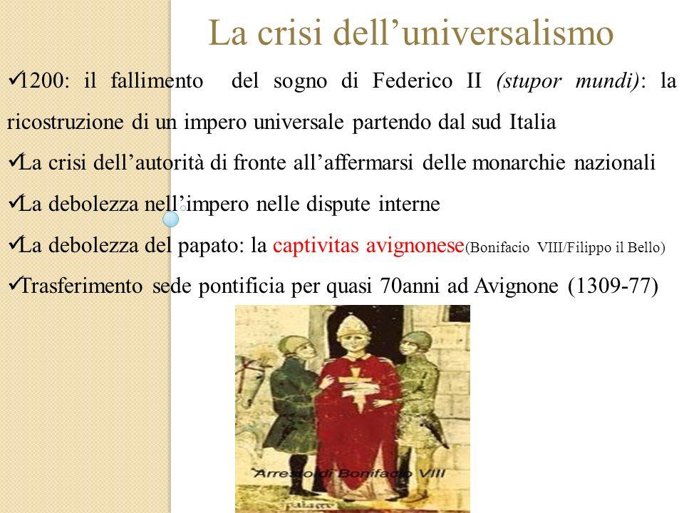 La crisi dell'universalismo