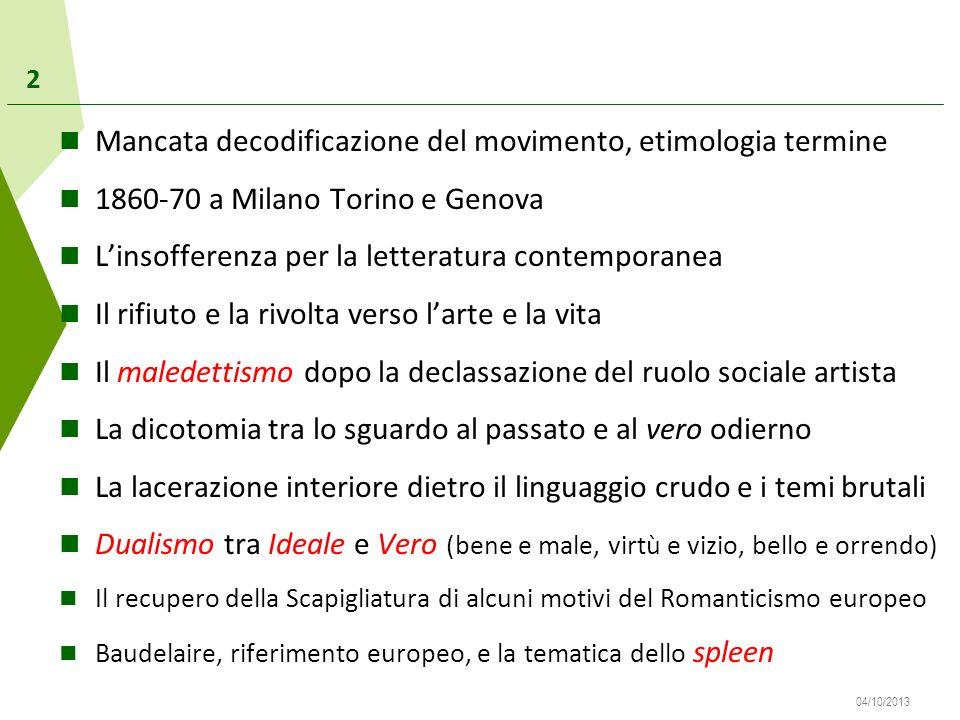 Mancata decodificazione del movimento, etimologia termine