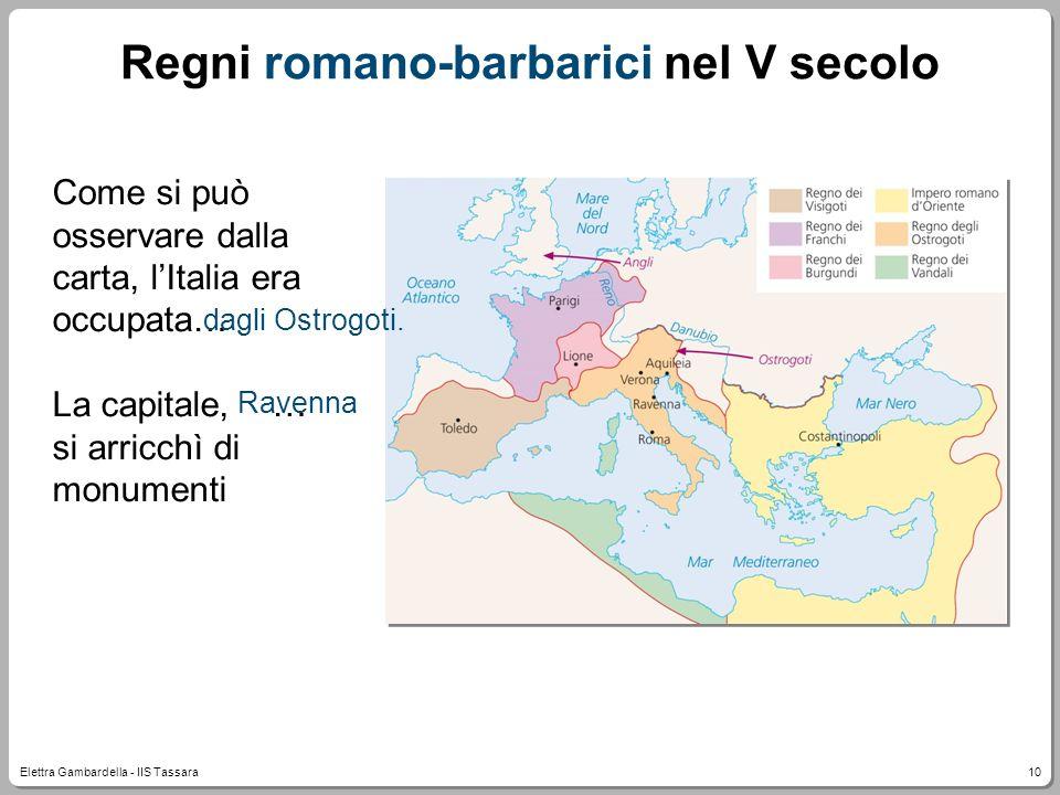 Regni romano-barbarici nel V secolo