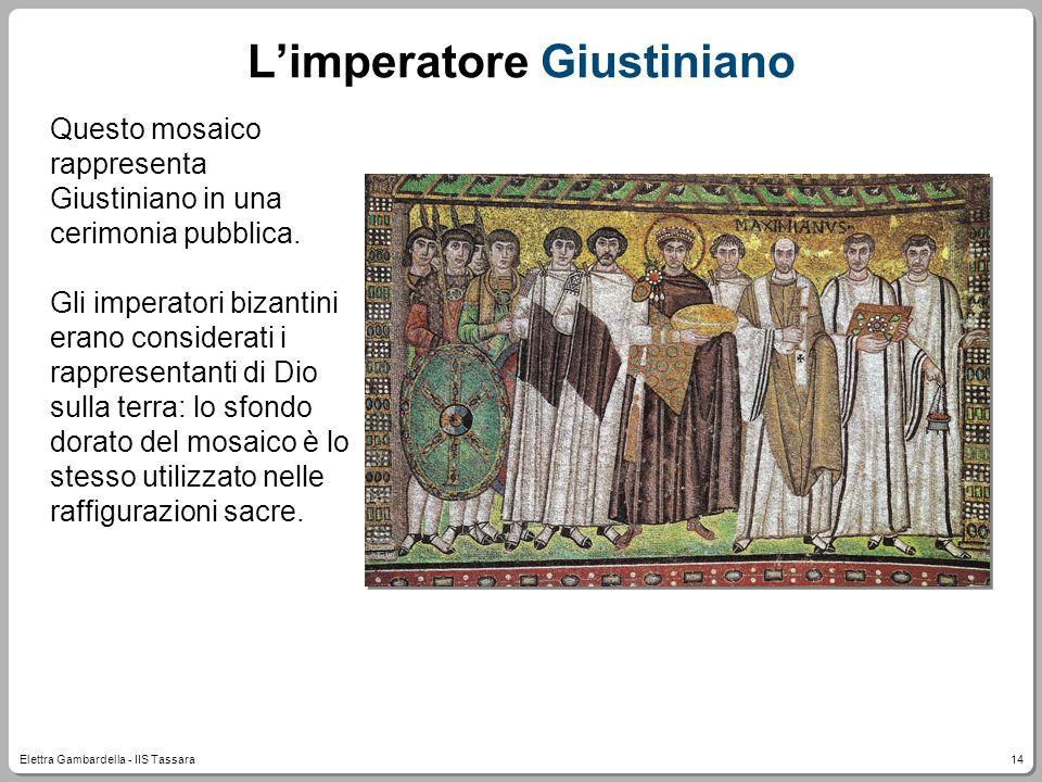 L'imperatore Giustiniano