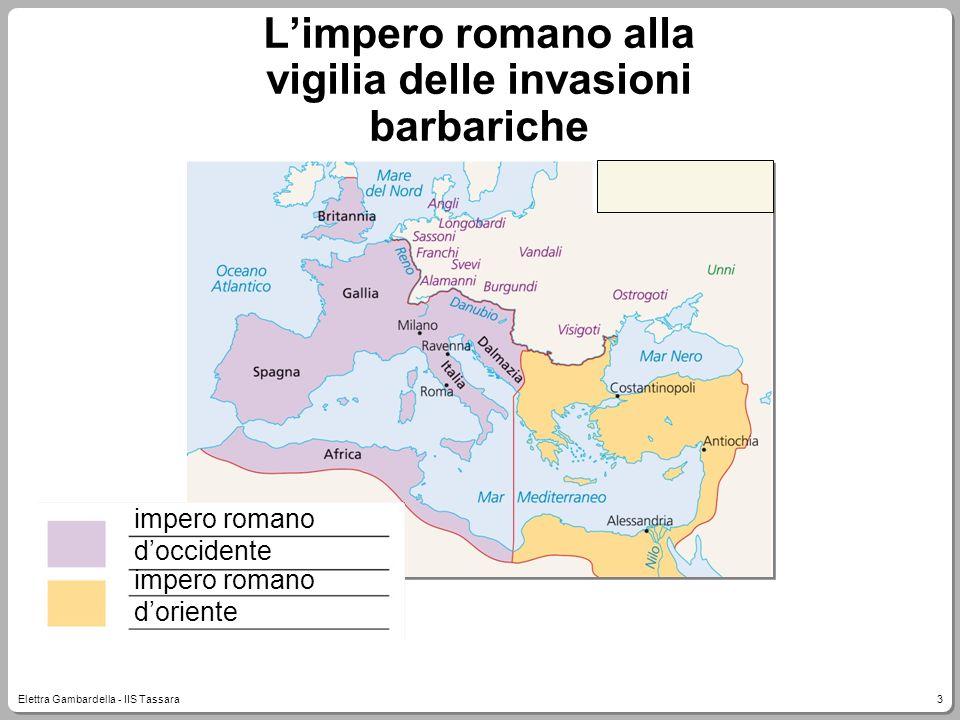 L'impero romano alla vigilia delle invasioni barbariche