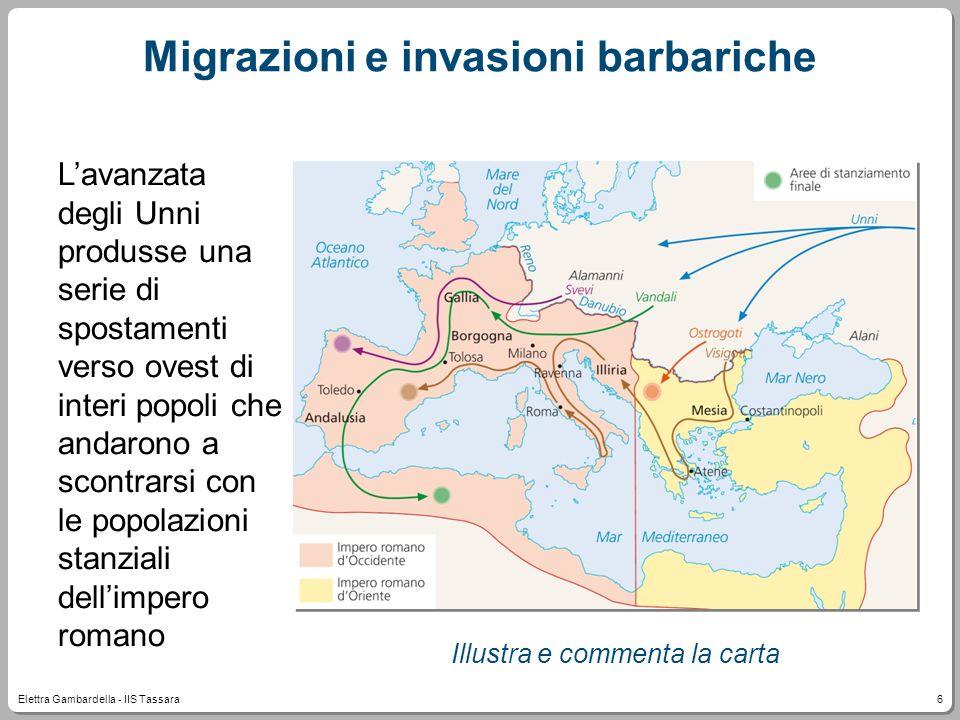 Migrazioni e invasioni barbariche