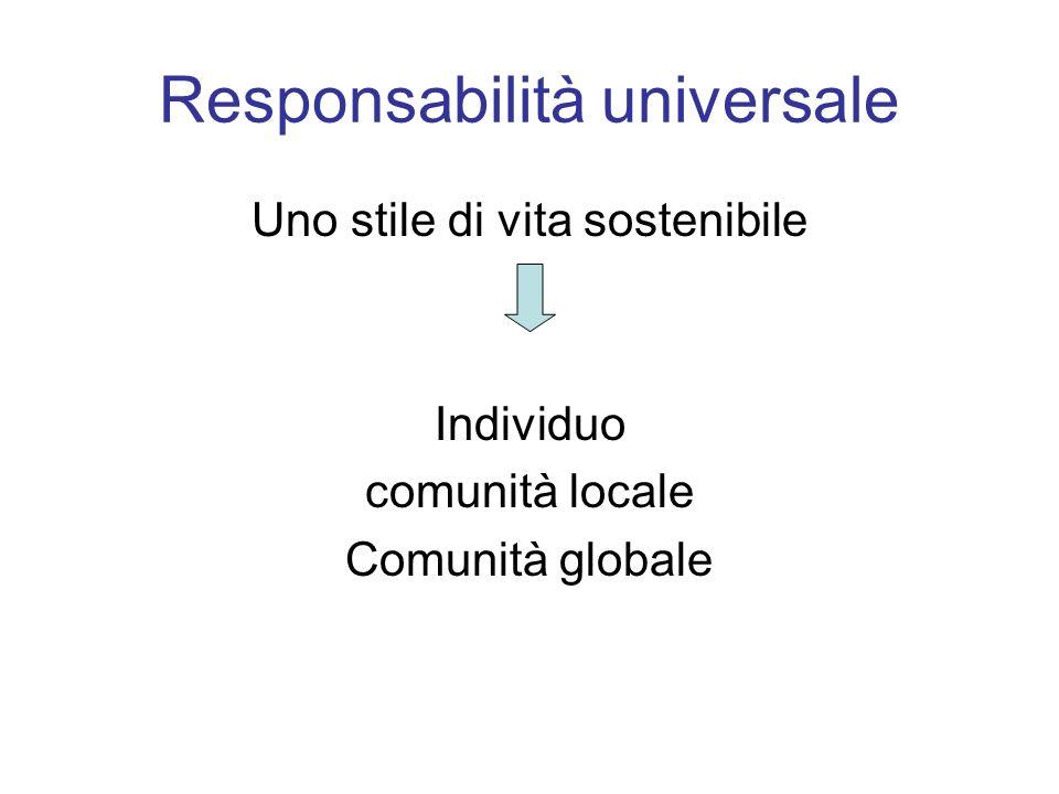 Responsabilità universale