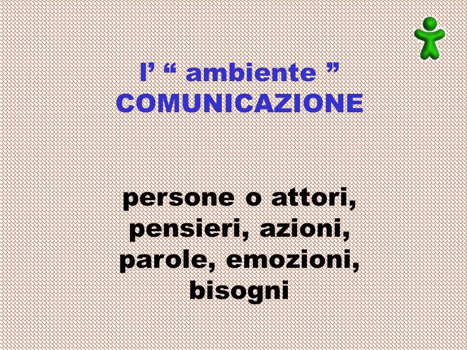 l' ambiente COMUNICAZIONE