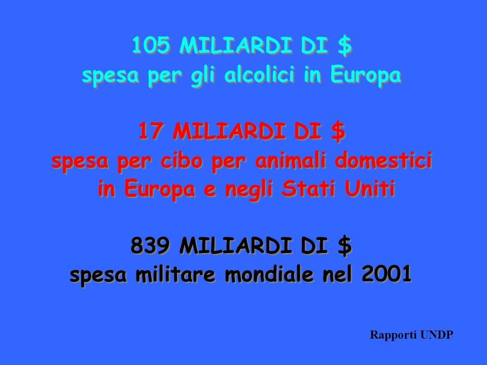 spesa per gli alcolici in Europa 17 MILIARDI DI $