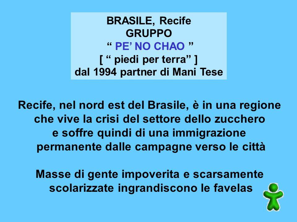 Recife, nel nord est del Brasile, è in una regione