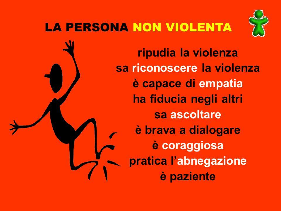sa riconoscere la violenza pratica l'abnegazione