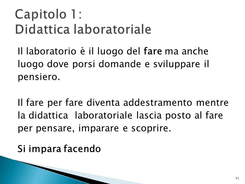 Capitolo 1: Didattica laboratoriale