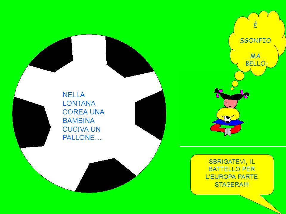 SBRIGATEVI, IL BATTELLO PER L'EUROPA PARTE STASERA!!!
