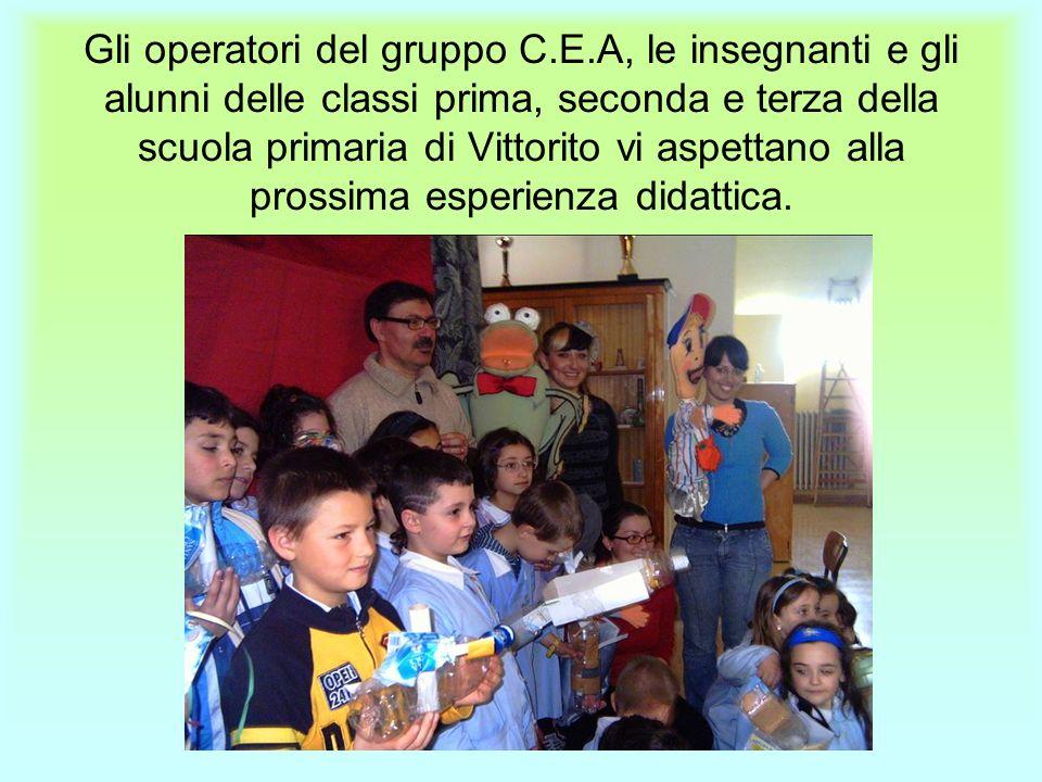 Gli operatori del gruppo C. E
