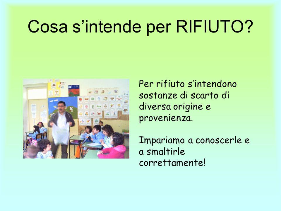 Cosa s'intende per RIFIUTO