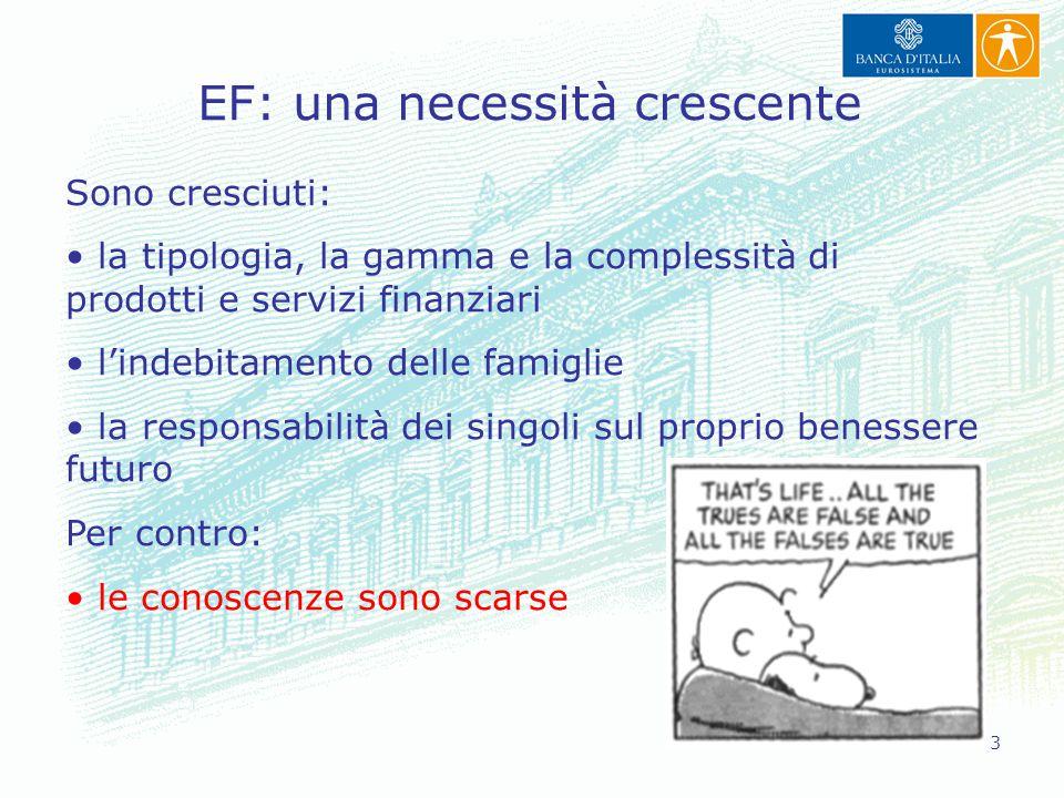 EF: una necessità crescente