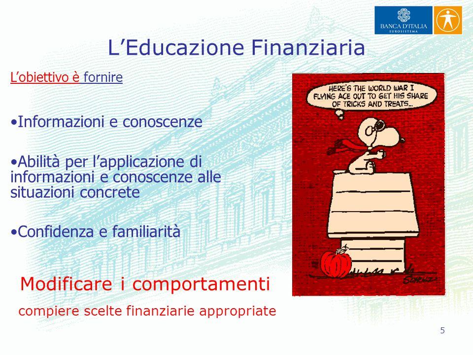 L'Educazione Finanziaria