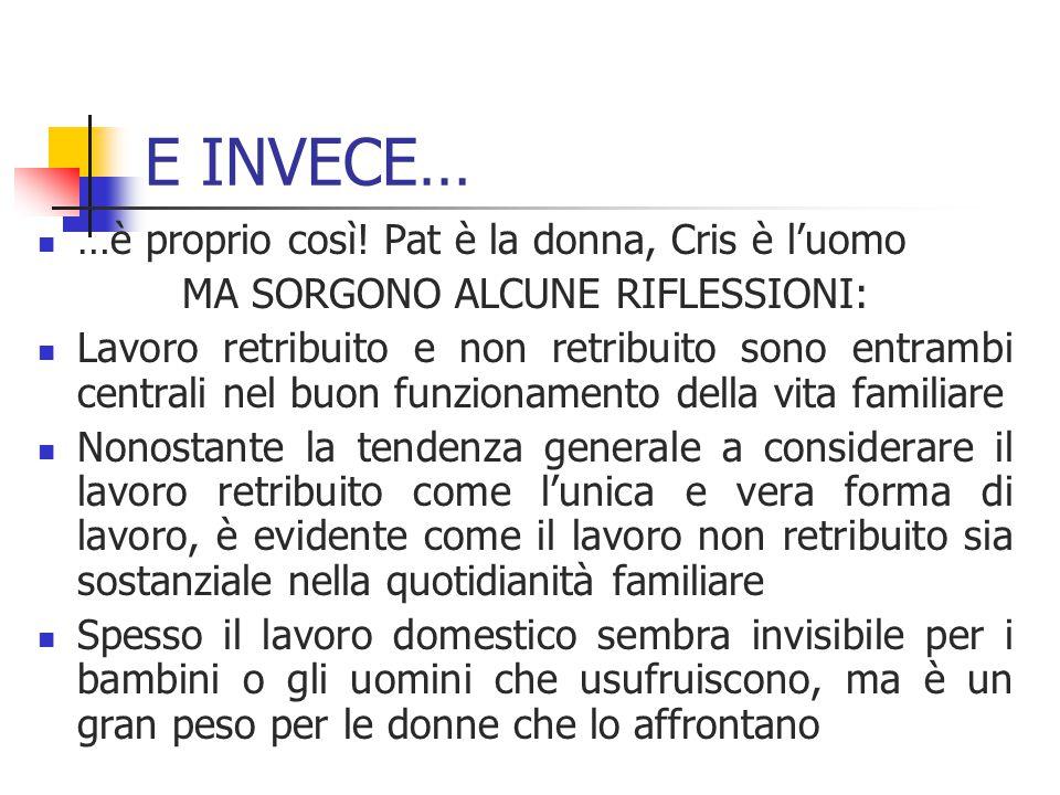 MA SORGONO ALCUNE RIFLESSIONI: