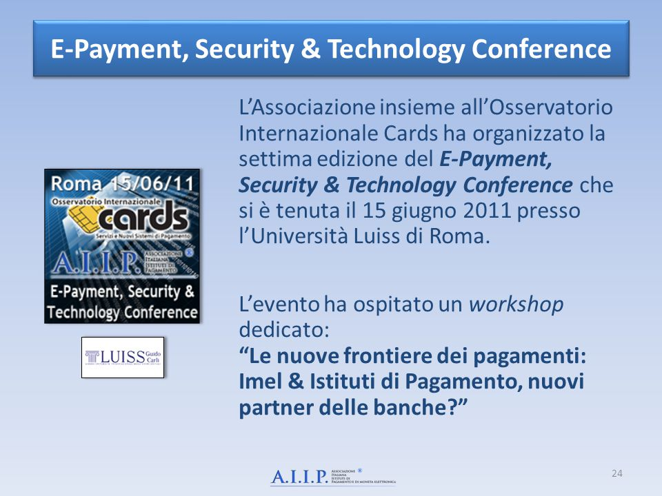 E-Payment, Security & Technology Conference