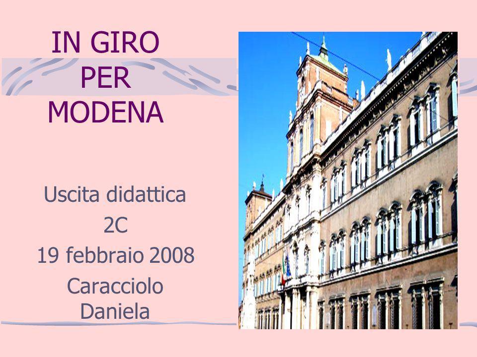 Uscita didattica 2C 19 febbraio 2008 Caracciolo Daniela