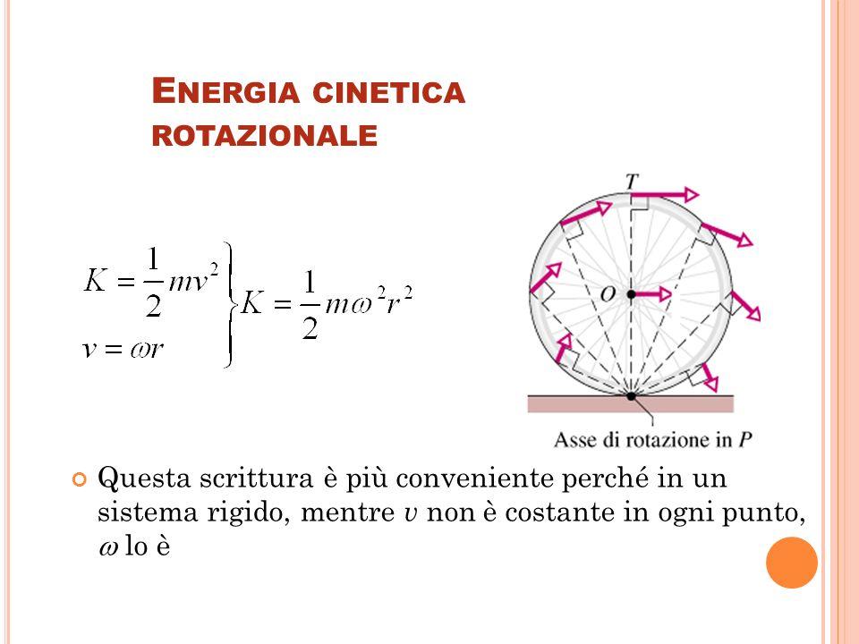 Energia cinetica rotazionale