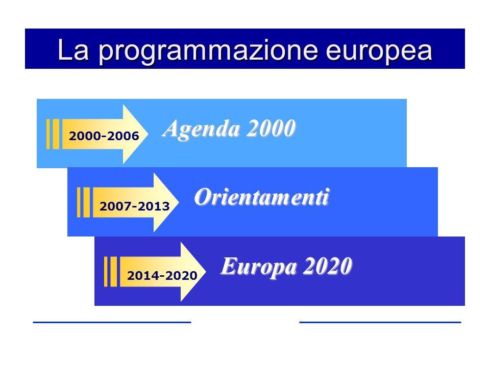 La programmazione europea