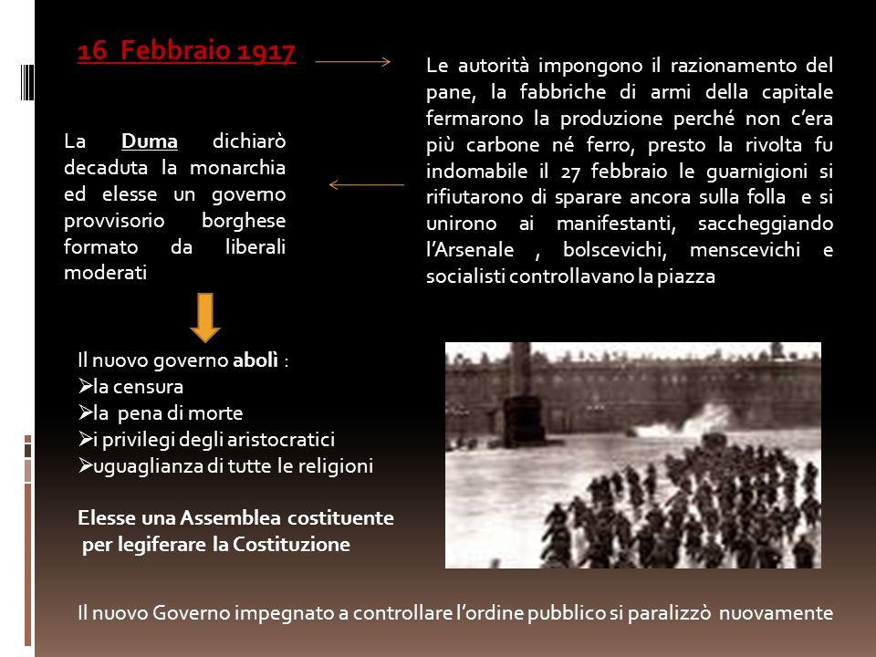 16 Febbraio 1917